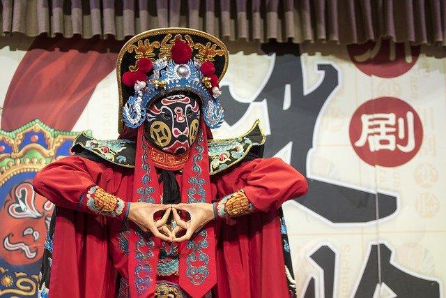 中国変面オペラ