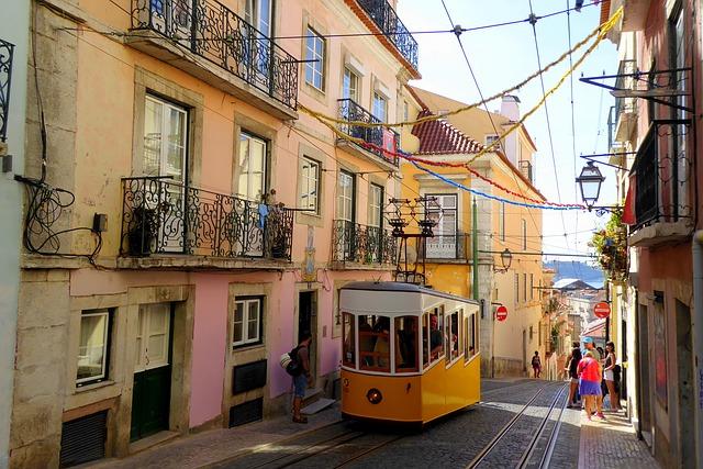リスボンの街